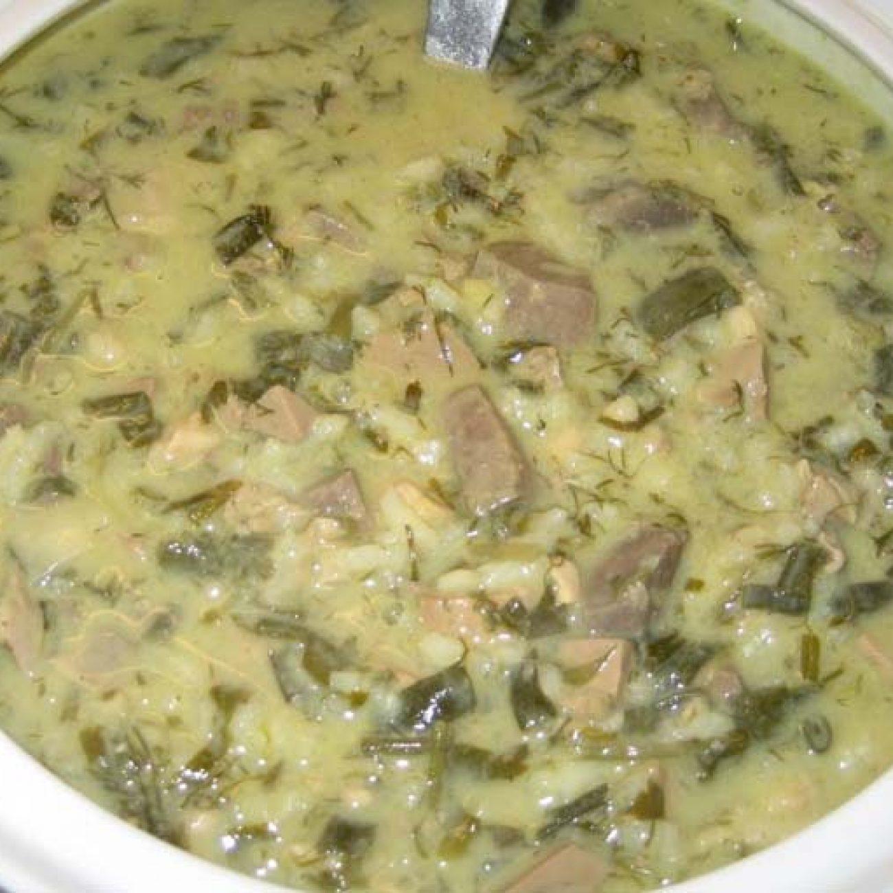 Великденска супа Магирица (Μαγειρίτσα)
