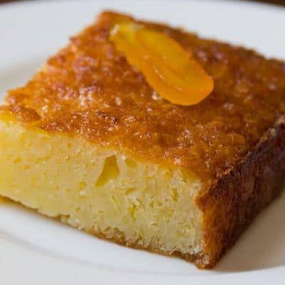 гръцки портокалов кекс