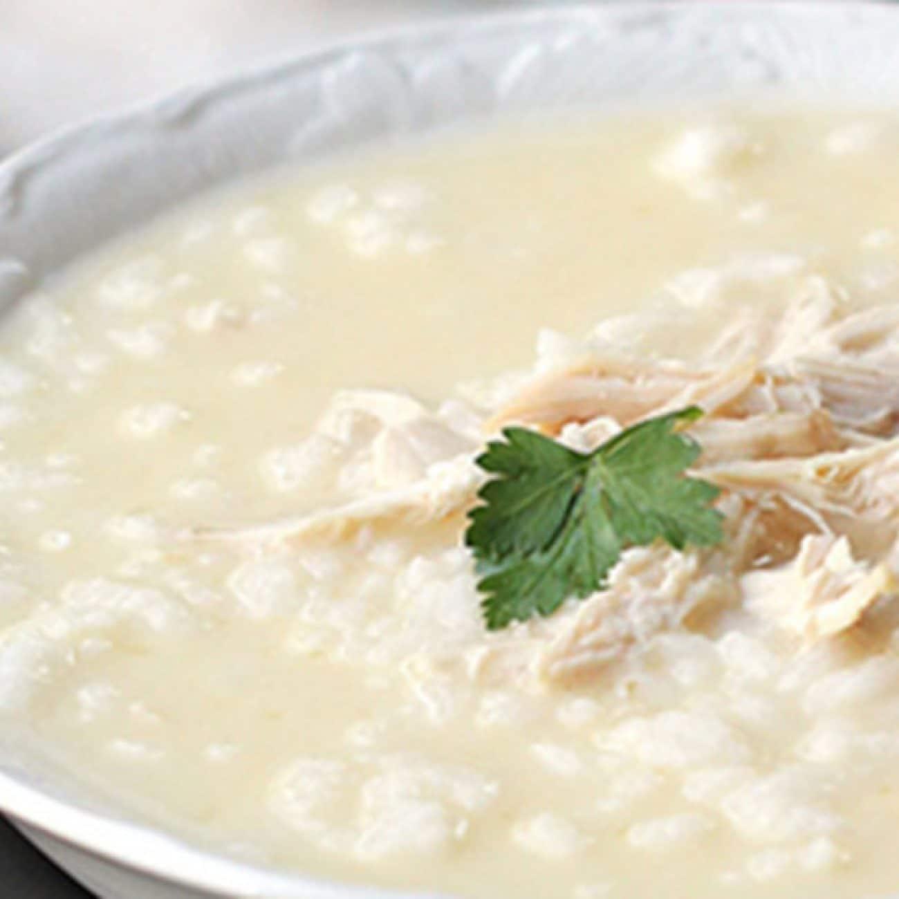 Супа авголемоно – пилешка супа с лимон по гръцки