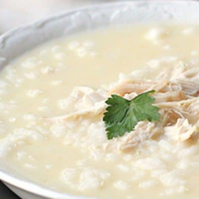 Супа авголемоно