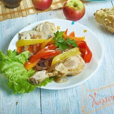 Пиле по римски (Pollo alla Romana)
