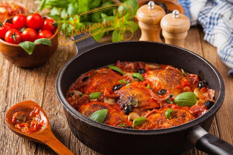 Пиле по ловджийски (Pollo alla cacciatora) – класика от Италия
